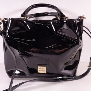Dooney and Bourke Black Patent Leather Purse